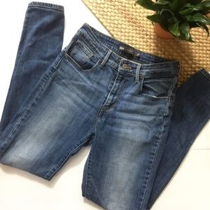 Levis high-rise skinny jeans size 27